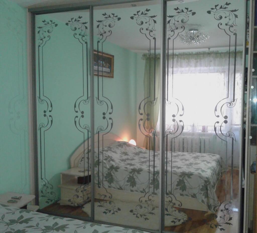 Декорированные зеркала